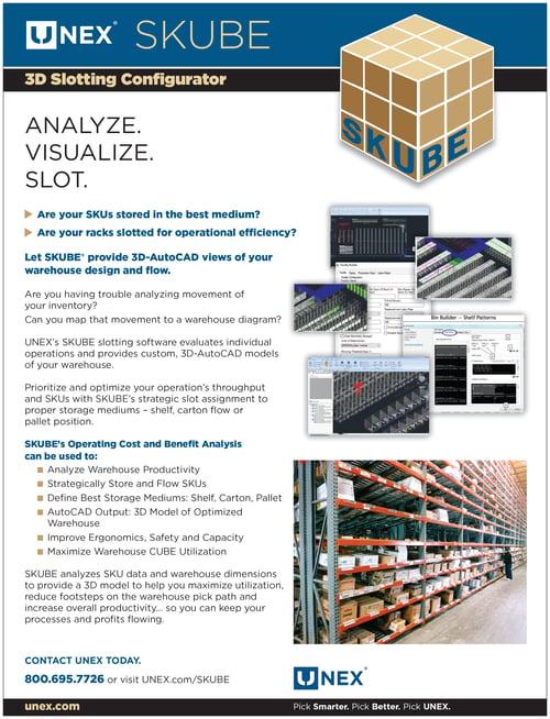 UNEX SKUBE Slotting Software PDF